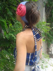 robe bleue vendome 2